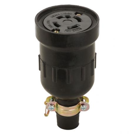 NEMA L16-30 Locking Rubber Connector