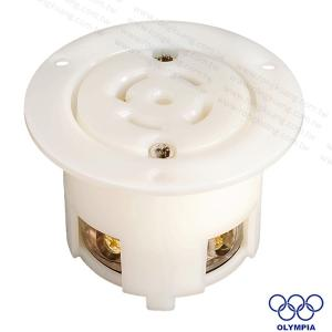 NEMA L22-30 Locking Flanged Outlet